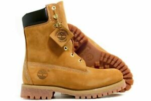 Timberland-Men-039-s-8-Inch-Premium-Waterproof-Wheat-Boots-Size-9-5-190