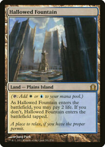 RTR NM Condition Hallowed Fountain
