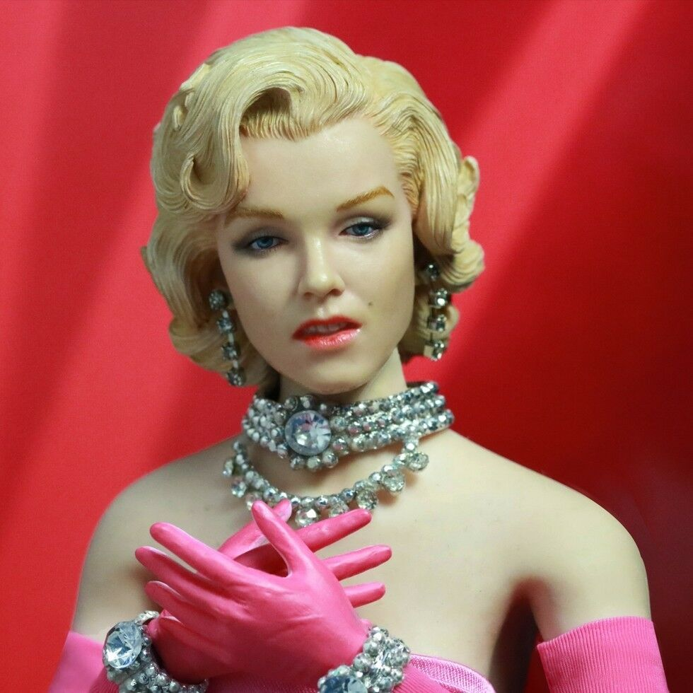 Star Ace Juguetes Marilyn Monroe Caballeros prefieren rubias 1 6 figura versión rosadodo
