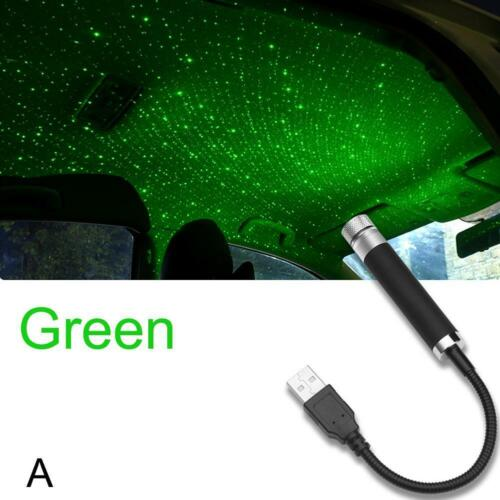 USB Car Interior Atmosphere Sky Lamp Starry Ambient Star Light LED Projectors