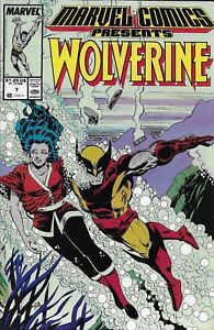 Wolverine-Comic-Issue-7-Marvel-Presents-Copper-Age-First-Print-1988-Claremont