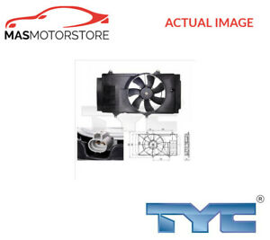 ENGINE COOLING RADIATOR FAN TYC 836-0014 I NEW OE REPLACEMENT