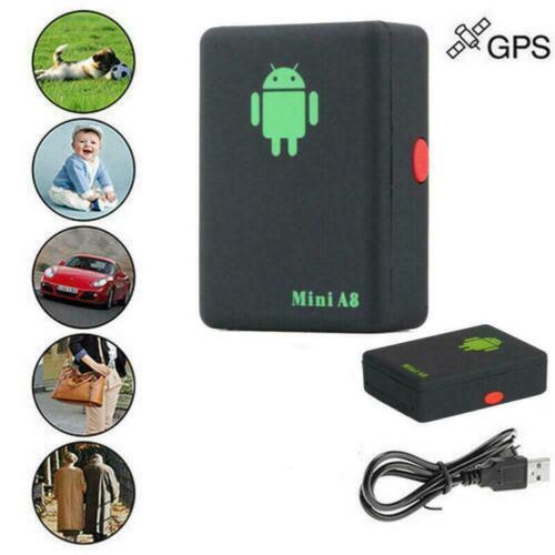 Mini A8 GPS Tracker Locator Car Kids Global Tracking Device Anti-theft Outd F9N9