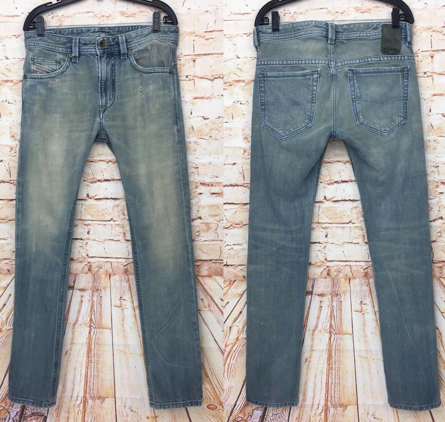 55590c39 Diesel bluee Eyecons 2012 1 Edition Jeans Denim Men's Sz Made in 30 ...