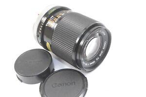 Canon-FD-135mm-f3-5-S-C-Breech-Mount-Prime-Lens-Good-condition-Caps