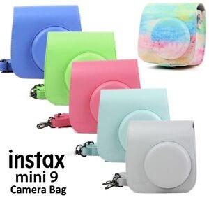 Fujifilm-Instax-Mini-8-9-Instant-Polaroid-Camera-Cover-Shoulder-Bag-Case-Shell