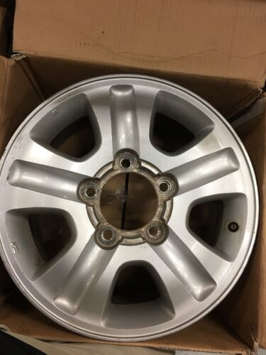 1 of 1 - Landcruiser 100 Series Sahara/GXL 17 x 8 Genuine Toyota Alloy Wheel/Rim x 1 USED
