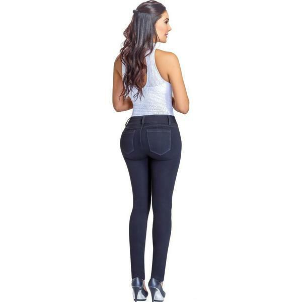 JEANS COLOMBIANOS LOWLA 217988 padded bum pants lifter jeans enhance your figure
