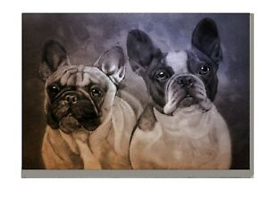 French-Bulldog-Art-Print-A4-A3-Matte-or-Gloss-Birthday-Xmas-Mothers-Day-Gift