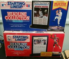 2X Starting Lineup headline Collection Magic/Nolan Ryan