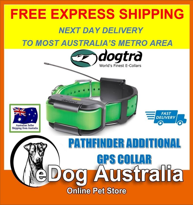 Dogtra Pathfinder Dog Remote Training Collar GPS Tracker Extra GPS Collar Only
