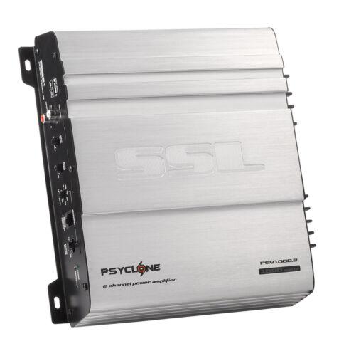 SOUNDSTORM PSY1000.2 1000 WATT 2//1 CHANNEL CAR STEREO AUDIO AMPLIFIER SUB AMP