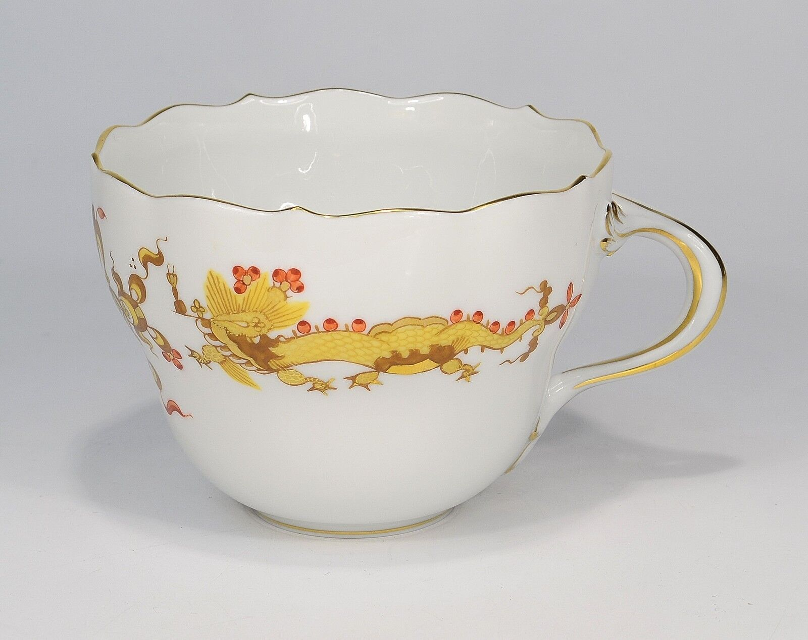 Meissen   Rich Drache Yellow   Coffee Cup without Saucer