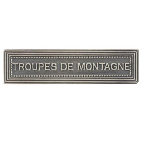 Agrafe pour médaille Ordonnance TROUPES de MONTAGNE