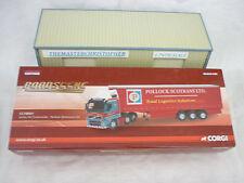 Corgi Roadscene Modern 1:76th Truck Volvo FH Curtainside Pollock CC18001