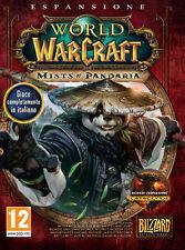 World Of Warcraft WOW Mists Of Pandaria ITALIANO PC IT IMPORT