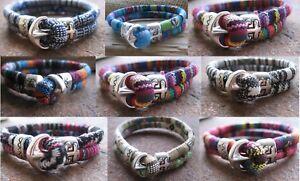 Ethno-Armband-bunt-Herren-Damen-Surfer-Anker-Sailor-neu-Bracelet-Stoffarmband