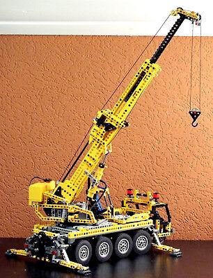 Lego 8421  Pneumatik Kranwagen komplett ohne Motor