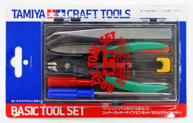 Tamiya 74016 Craft Tools - Basic Tool Set