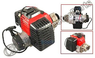 49CC 2 STROKE COMPLETE ENGINE ELECTRIC Pull Start Air filter Mini Moto ATV Part