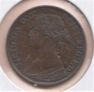 1861 NOVA SCOTIA   1/2  CENT EF+
