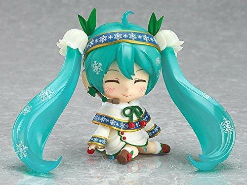 figure,Good smile  company Nendoroid 493  VOCALOID Snow Miku Snow Bell Ver