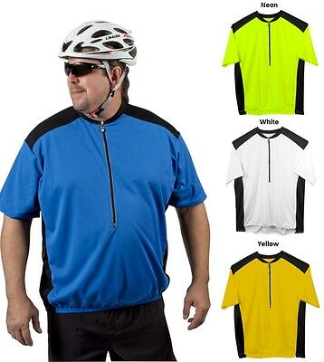 ATD Big Man Colossal Cycling Jersey - Loose Fitting Made in U.S.A Biking Riding