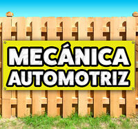 Mecánica Automotriz Advertising Vinyl Banner Flag Sign Many Sizes Available