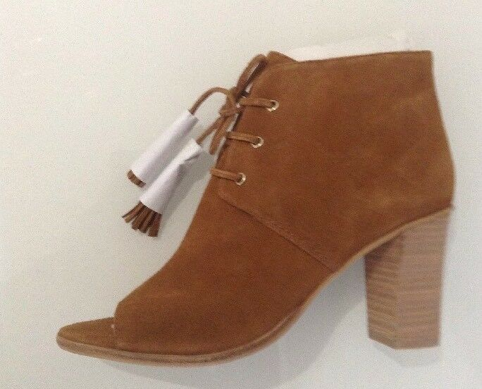 Mint Velvet Yasmin Tan Toe  Ankle shoes Boots Size 39 6