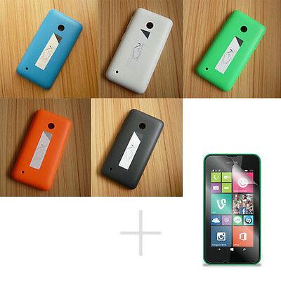 EB5 Original Battery Back Door Cover Case + Screen Protector for Nokia Lumia 530