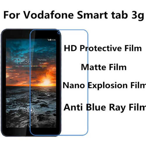 Protector de Pantalla Mate Anti-rayadura Vodafone Smart Tab 3g 3 un.for Anti Explosión