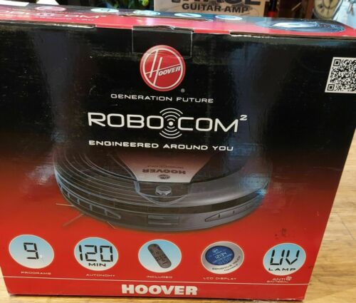 HOOVER ROBO.COM RBC009 Self Docking Bagless Robot Vacuum FREE