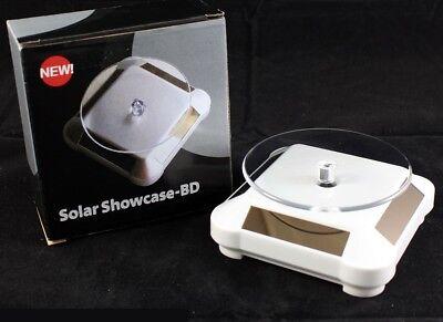 Espositore Rotante Ad Energia Solare Girevole Esposizione Da Vetrina Piatto lac