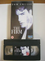 THE FIRM VHS VIDEO. EAN: 5014437281920. 1993. Cert.15. Cruise, Harris, Hunter.