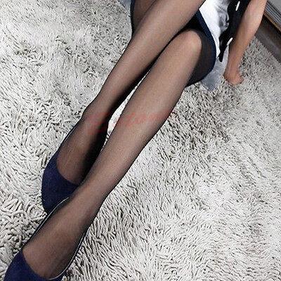 4 Colors Sexy Full Foot Women Thin Sheer Tights Stocking Panties Pantyhose