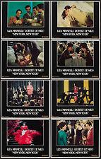 NEW YORK, NEW YORK 11x14 set ROBERT DE NIRO/LIZA MINNELLI lobby card posters