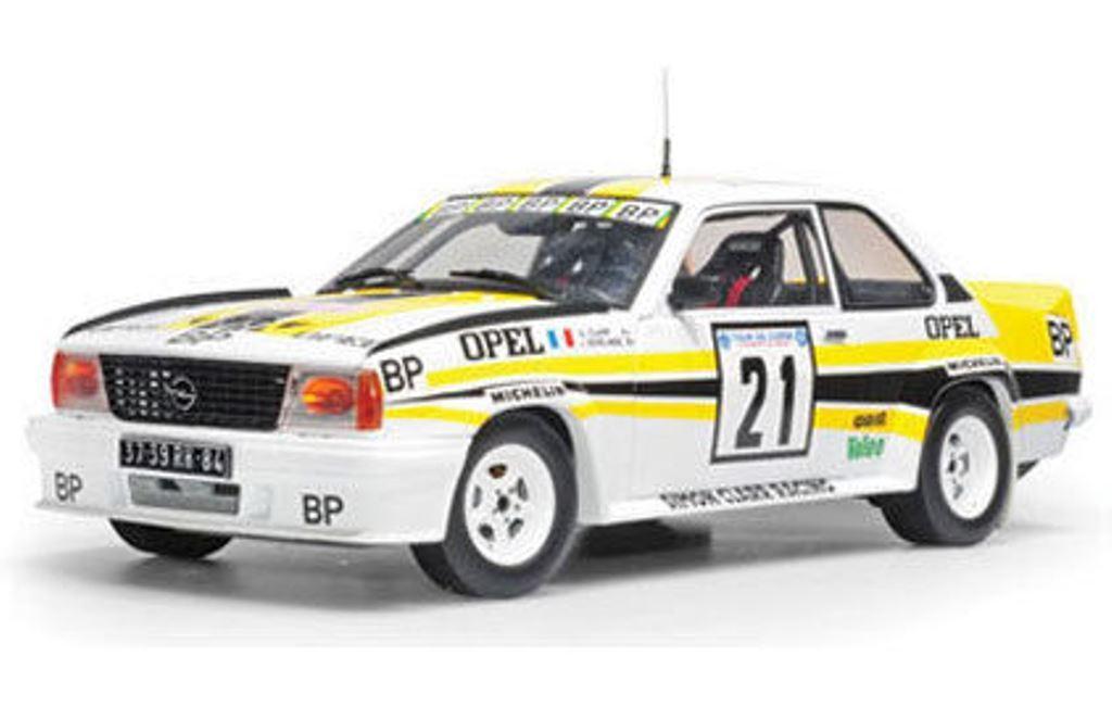 SUNEstrella 5364 Opel Ascona 400 Diecast Rally Coche Tour de Corse Clarr BP 1982 1 18