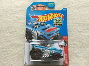 Blue-Backdrafter-HW-Rescue-Factory-Sealed-Hot-Wheels