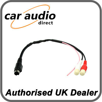 CT29AU01 AUDI A3 1998 to 2003 AUX AUXILIARY INPUT MINI 10 PIN CONNECTOR LEAD