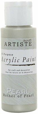 Acrylic Paint Artiste 2 oz  Pearlescent Paint Mother of Pearl DOA 763002