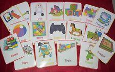 GIOCATTOLI - 24 schede Flash-BABY Toddler-childminder-toy camera-DIVERTENTE uso domestico