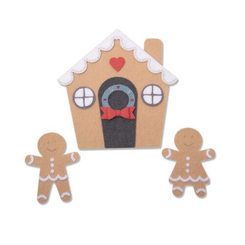 Sizzix Gingerbread House Bigz plus DIE bigz die chapitre 3 2019 Découpe 66...