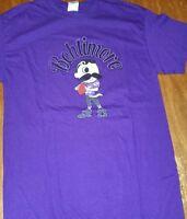 Natty Boh Baltimore Bohtimore Purple T Shirt Baltimore Raven