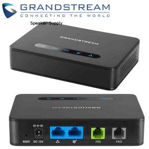 Details about Grandstream HT813 Analog Telephone Adapter 1 FXS Port & 1  PSTN Line FXO Port ATA