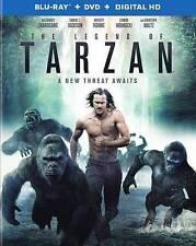 NEW NO SLIP LEGEND OF TARZAN A NEW THREAT AWAITS BLU RAY DVD UV FREE 1ST CLS S&H