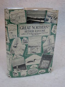 Arthur-Ransome-GREAT-NORTHERN-Macmillan-1948-First-Printing