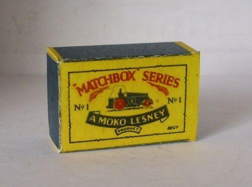 REPRO BOX MATCHBOX 1:75 n 01 DIESEL ROAD ROLLER ALT