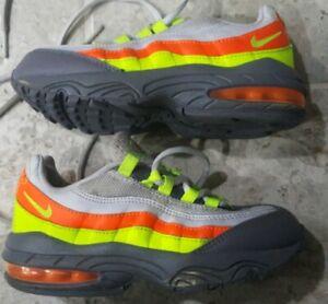 size 40 f8c14 c89d7 Details about Nike Air Max 95 Size 12C Vast Grey/Volt/Gunsmoke/Total Orange  Neon 905461-008