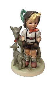 """Vtg M.I. Hummel by Goebel W Germany """"Little Goat Herder"""" 200/0 TMK6 No Box"""