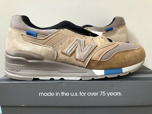 purchase cheap b52b6 7d8fb Details about New Balance 997 x KITH x NONNATIVE Tan Size 11 LIMITED 100%  Authentic